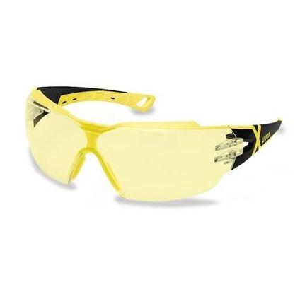 Okulary Ochronne UVEX Pheos 9192 385 żółte