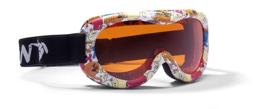 Gogle sportowe dziecięce SNOW (dostępne w kolorze Limonki)