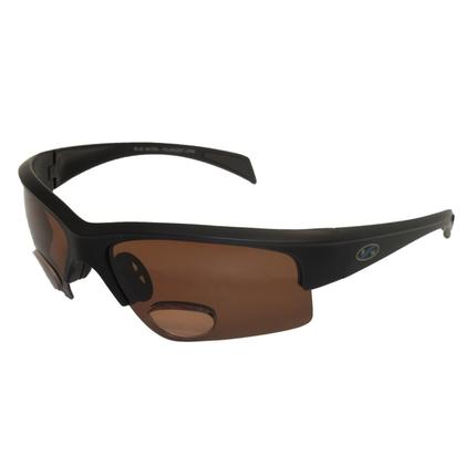 Okulary Wędkarskie z polaryzacją PL Bifocal 2 BRN +2,00 dpt.